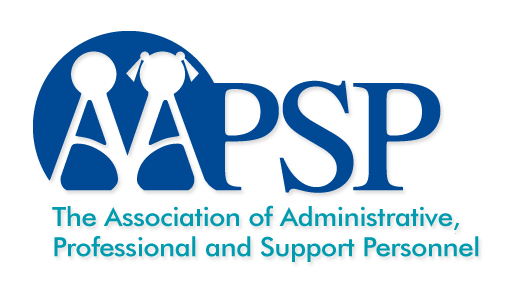 Logo for the Association of Administrative Professional and Support Personnel - A. A. P. S. P.